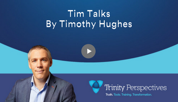 Trinity video chat with Timothy Hughes