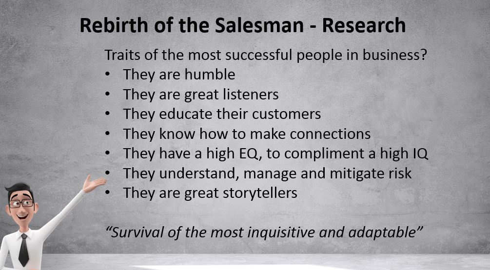 Traits of the most successful salespeople