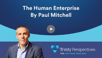 The Human Enterprise podcast featuring Cian McLoughlin